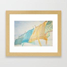 Grandma's Aprons Framed Art Print