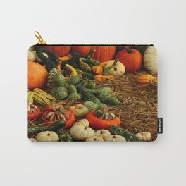 Autumn Time Harvest Time Carry-All Pouch