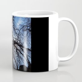 Nearly Abstract Tree on clear blue sky Coffee Mug