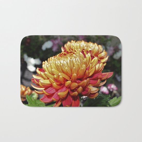 Mother's Day Flowers Bath Mat