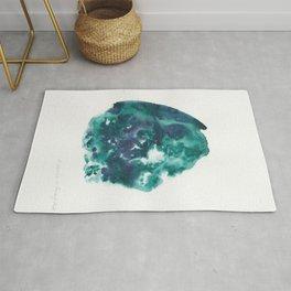 30| Abstract Watercolor | January 2021 | Valourine Original Rug