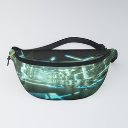 Emerald Tunnels no2 Fanny Pack