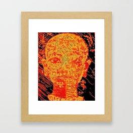 king Tut series 2 Framed Art Print