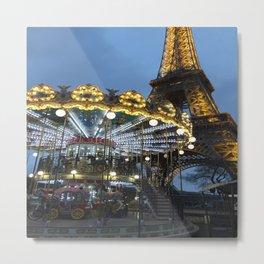 Parisian Lights Metal Print