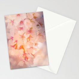 Floral Photography. Japanese Sakura Pastel Flower Photo Print. Stationery Cards