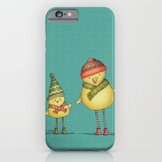 Two Chicks - teal Slim Case iPhone 6s