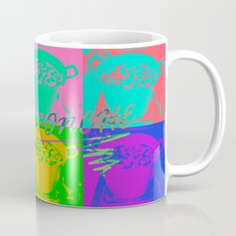 Ponche de Frutas (Fruit Punch) Mexican Drink for Winter/Christmas Pop Art - Version 1 Coffee Mug