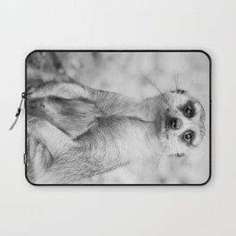 Meerkat portrait Laptop Sleeve