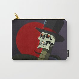 Top Hat Snake Skull Carry-All Pouch