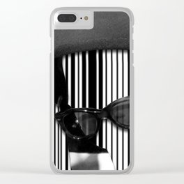 Barcode Collage #2 Clear iPhone Case