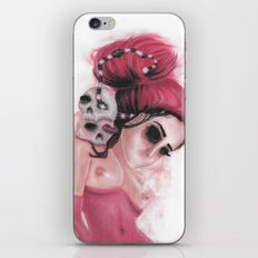 Red Coloured Dreams iPhone & iPod Skin