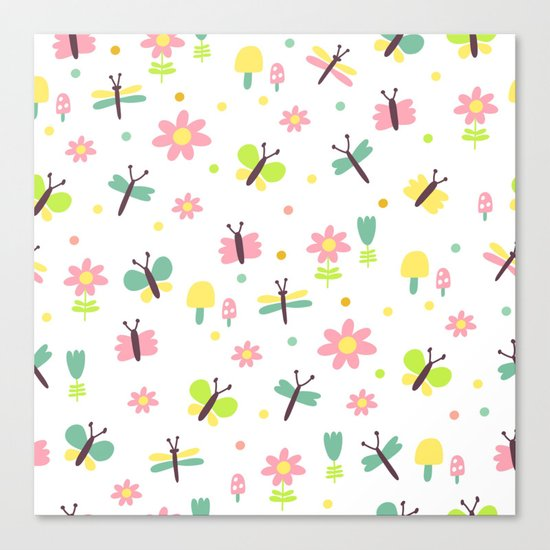 Sweet Fly Canvas Print