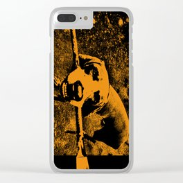 BAD DOG (Long) Clear iPhone Case