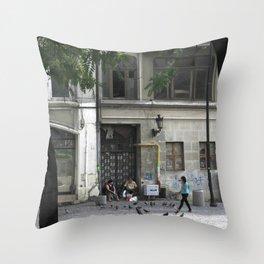 Bucharest V Throw Pillow