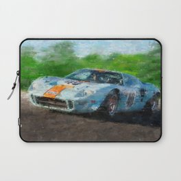 Ford GT 40, Gulf Laptop Sleeve