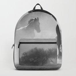 Horses Running Wild Backpack