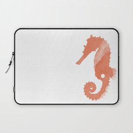 Watercolor Seahorse Laptop Sleeve