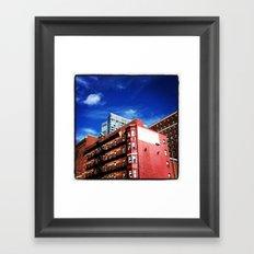 Milner Hotel, Boston, Massachusetts Framed Art Print