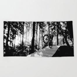 Biker Beach Towel