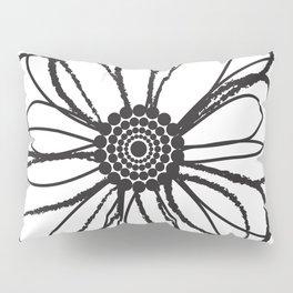 Anemone - Monotone Perennial Pillow Sham