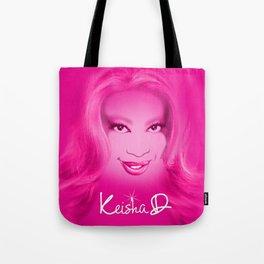 Keisha D in Pink Tote Bag