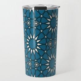 Mudejar in Blue Travel Mug