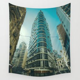 CITY - BUILDING - SQUARE - PHOTOGRAPHY Wall Tapestry
