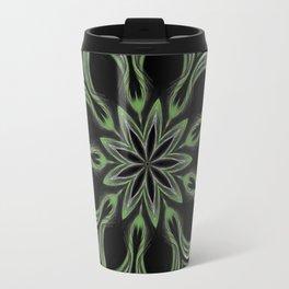 Alien Mandala Swirl Travel Mug