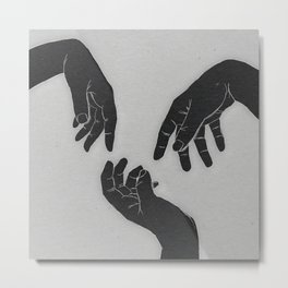 I have these weird feelings Metal Print