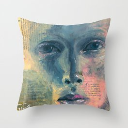 Those Painted Clouds Throw Pillow