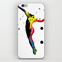 body iPhone & iPod Skins featuring Body by Svitlana M
