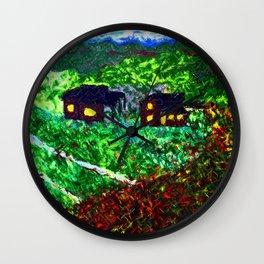 Autumn Fall Wall Clock