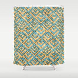 Geometric pattern Modern Shower Curtain