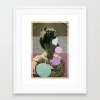 coco Framed Art Prints featuring Coco by Naomi Vona