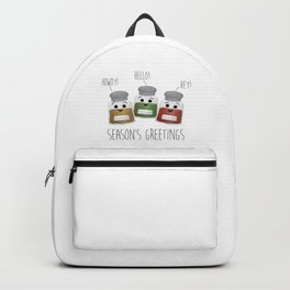 Season's Greetings | Garlic, Oregano & Paprika Backpack