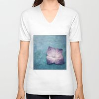 lonely V-neck T-shirts featuring LONELY by MadiS