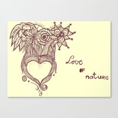 Love Of Nature 2.0 Canvas Print