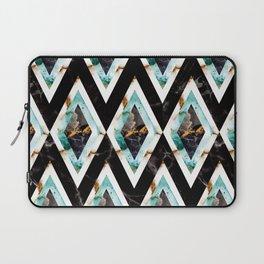 Art deco marble pattern 20s #homedecor Laptop Sleeve