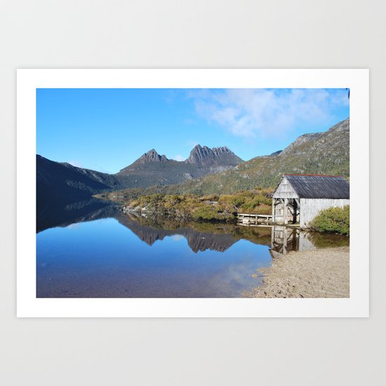 Cradle Mountain Lake Art Print