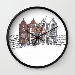 York, England Wall Clock