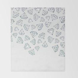 Diamond Shower Throw Blanket