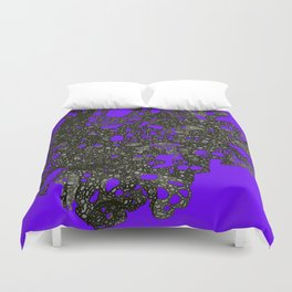 Change being the only certainty Duvet Cover