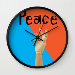 Hands Up Wall Clock
