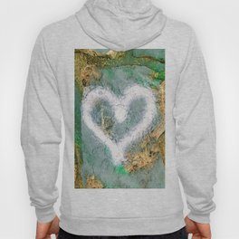 graffiti heart Hoody