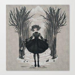 Dark Little Season Canvas Print