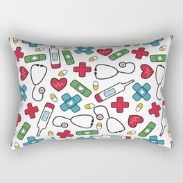 Cute Nurse Pattern Rectangular Pillow