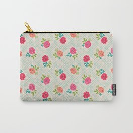 Vintage Farm floral Carry-All Pouch