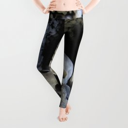 Ossuary (Bones and Skulls in the Cemetery Church of All Saints) Leggings