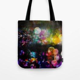Bokeh confetti Tote Bag