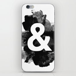 Ampersand Paint iPhone Skin